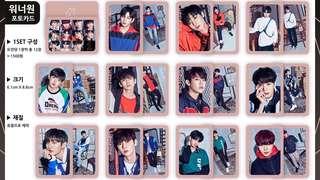 [LF] wannaone photocards share