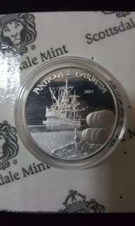 2018 Antigua & Barbuda 1 oz Silver coin Rum Runner