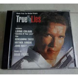 True Lies Music From The Motion Picture Original Soundtrack OST CD