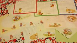 Sanrio Mr.Bear'sDream1994年絕版信紙💖