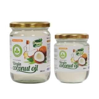 Malaysia Cold Pressed Organic Virgin Coconut Oil VCO 500ml + 200ml
