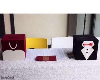 Bride & Groom Wedding angbao box | wedding solemnization | wedding reception | wedding banquet