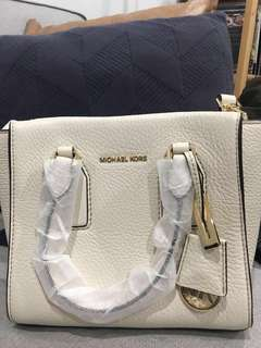Michael Kors Selby Tote (Cream Leather)