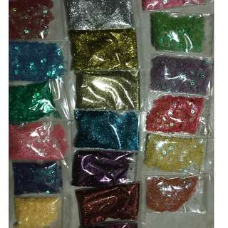 Glitters for slime $1 each