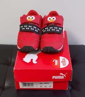 *PRELOVED* Authentic 15cm PUMA Elmo Shoes