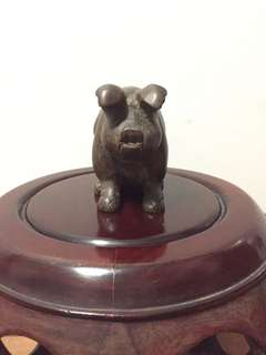 Cute & Lucky Vintage Pig