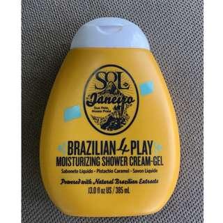 Sol de Janeiro Brazilian 4 Play Moisturizing Shower Cream Gel 385ml NEW + AUTH (NO SWAPS, NO OFFERS)