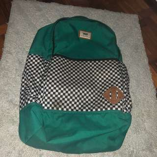 Vans Green Backpack