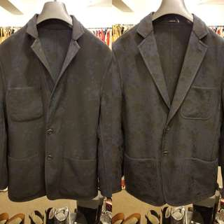 Men hermes double sided jacket size 50