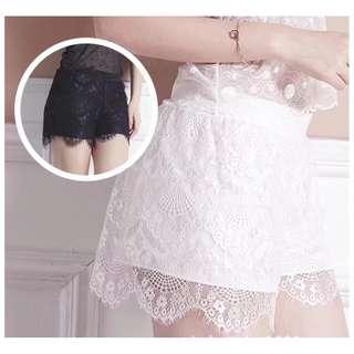 «Kimi Shop» 預購➜睫毛蕾絲造型設計安全褲