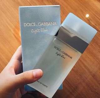D&G Light Blue For Women (ORIGINAL SINGAPORE)