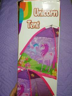 UNICORN TENT FOR KIDS AGE 2 TO 4
