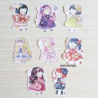 《Lolita Girl》和紙膠帶貼紙篇✂