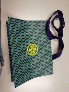 Tory Burch paperbag