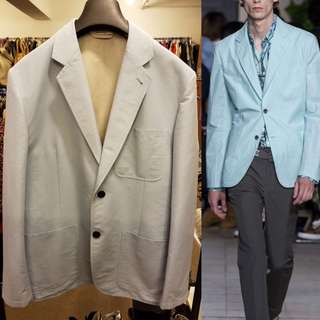 Men Hermes light blue jacket size 50