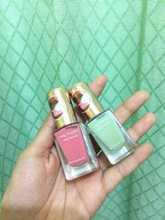 miniso nail polish ( water based) buy one get one