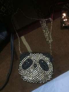 Panda sling bag