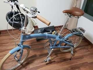 Bobbin Folding Bicycle