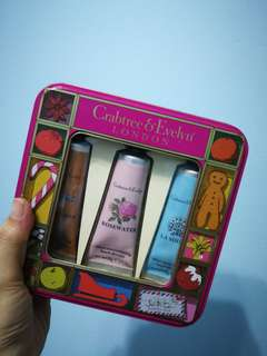 BNIB Crabtree & Evelyn Hand Cream Set