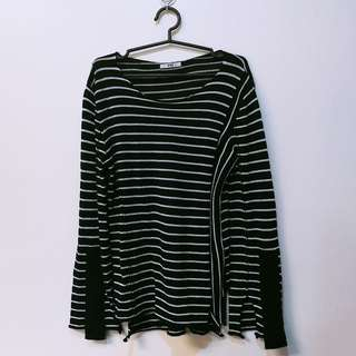 Large - Stripe top