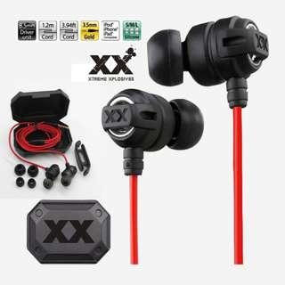 🚚 JVC-HA-FX1X In-Ear Earpiece Earphone Deep Bass Xtremed Xplosives Stereo