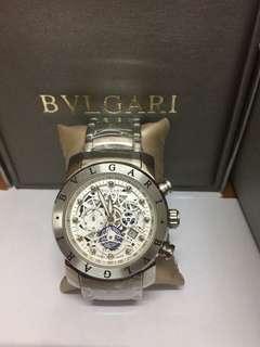 BVLGARI SILVER AUTHENTIC WATCH