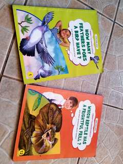 I Want To Know About series (2pcs children's books)