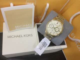 MK GOLD AUTHENTIC WATCH