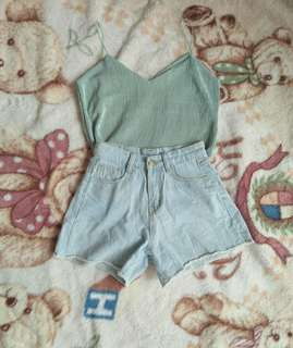 Ukay Highwaist Denim Shorts