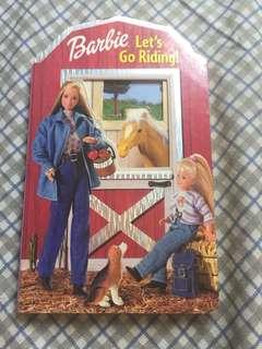 BARBIE Book (Let's Go Riding!)