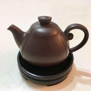 正品台灣天福茗茶絕版富貴金錢壺150ml
