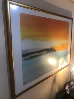 Beautiful Framed Abstract Art
