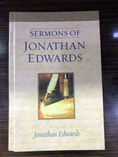 Sermons of Jonathan Edwards - J. Edwards