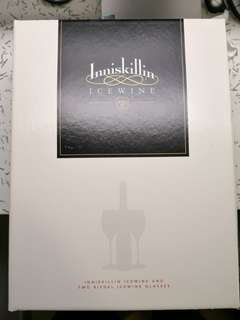 Inniskillin Icewine set with two glasses