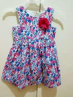 Printed floral dress