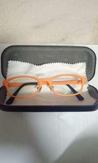 Ownsday AIR ultem glasses (orange color) with lens