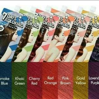 Missha 7Day Hair Treatment/Dye