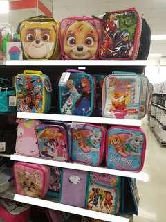 LIMITED PERIOD [Juniorcloset] B. 🆕 Zak! Paw patrol Num noms My little pony Frozen Avengers thermal lunch bag