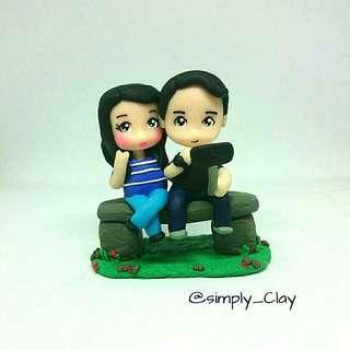 Couple Standee
