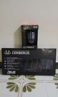 Asus Cerberus Gaming Keyboard + Mouse