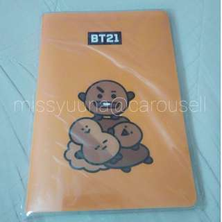 MONOPOLY BT21 SHOOKY NOTEBOOK