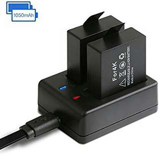 Action Camera Battery Pack