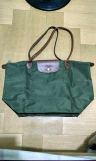 Longchamp Le Pliage green