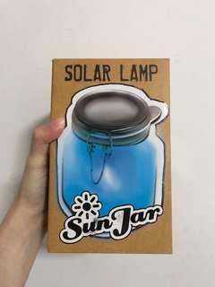 Solar Lamp Sun Jar