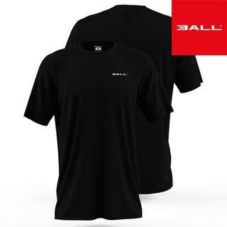 Plain Dri-Tech Hydrophobic T-shirt Black