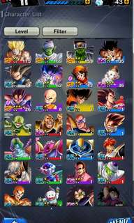 Dragon Ball legends account