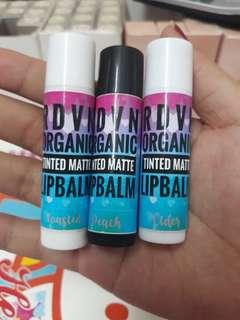 Organic Tinted Matte Lip Balm