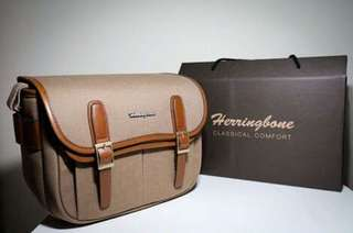 Camera bag Herringbone Maniere ORI! Save 500k!