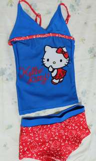 Hello kitty 2 piece swimwear