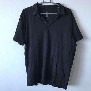 H&M Black Polo shirt size XL